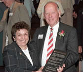 Donna Shalala and Robert F. Froehlke
